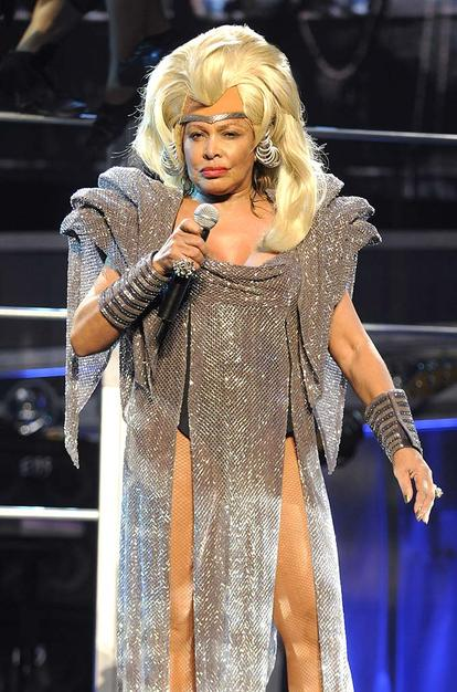Tina Turner is space ready in 2008
