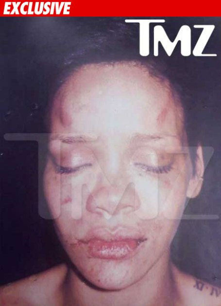 Rihanna's photo from TMZ