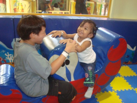 see saw with Kuya Aiden!