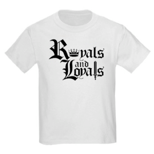 Royals and Loyals White Front